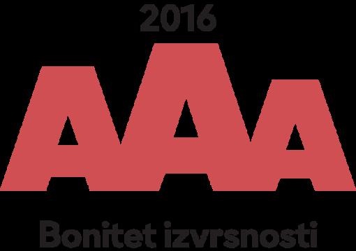 Vlado d.o.o. dobitnik AAA certifikata bonitetne izvrsnosti